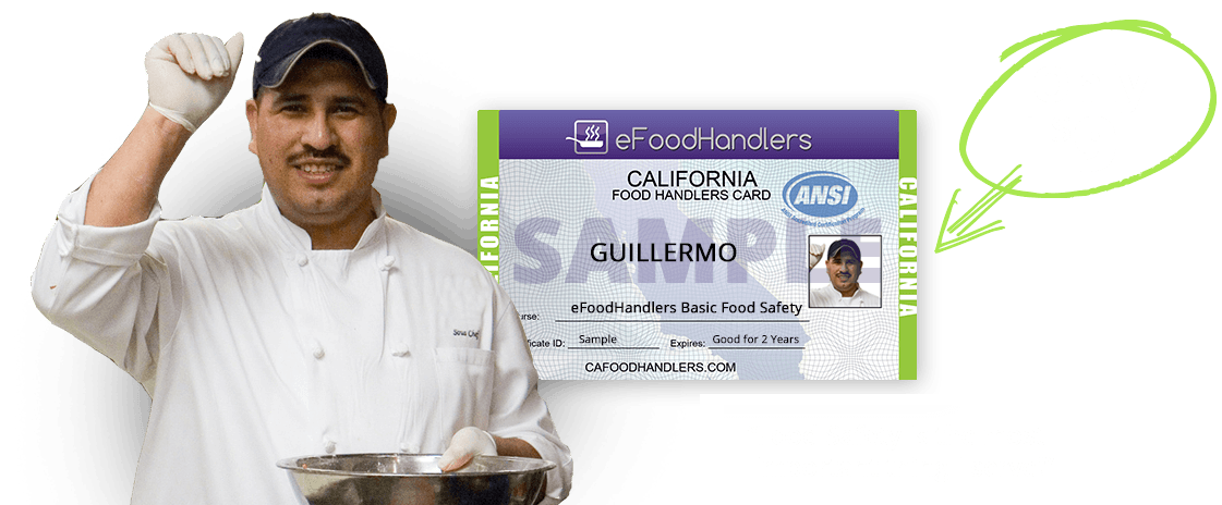 california food handlers card | efoodhandlers®