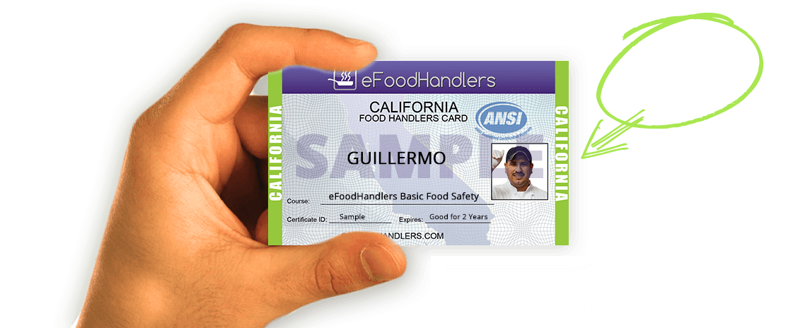california food handlers card efoodhandlers